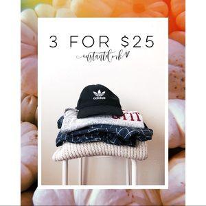 3 for $25! read description 🥳